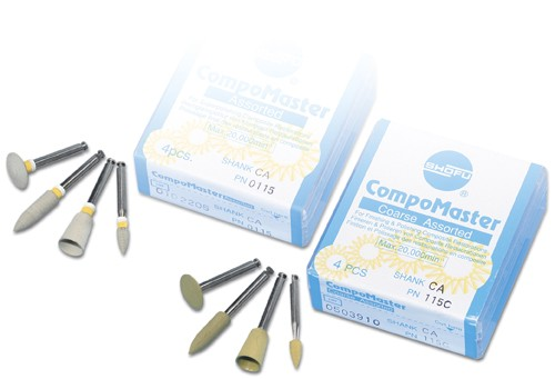 Shofu Compomaster Coarse Dental Polishing