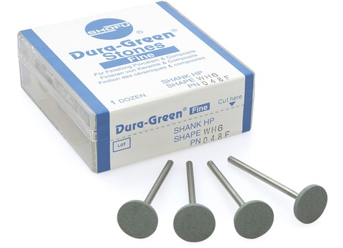 Shofu Dura Green Stones Packaging