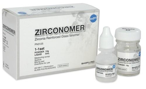 shofu zirconomer dental restoration