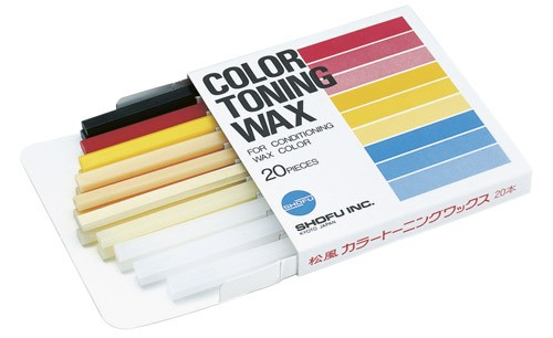 Shofu Color Toning Wax
