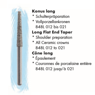 Long Flat end Taper