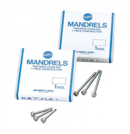 Shofu Mandrels Stainless Steel