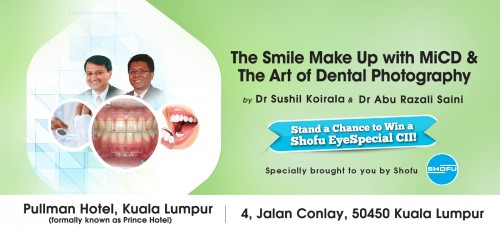 The Smile makeup with MiCD The Art of Dental Photography