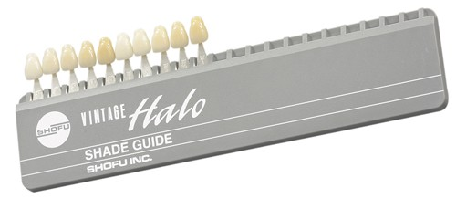 Vintage Halo Shade Guide